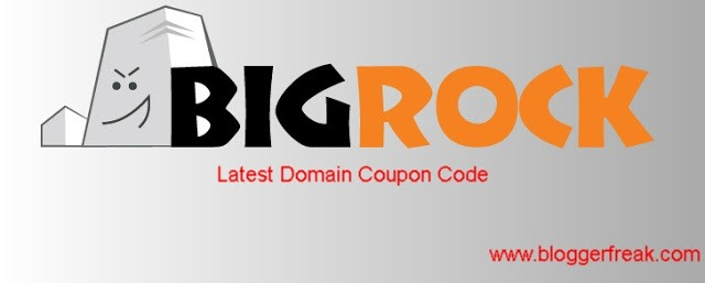 Bigrock domain coupon code 2018