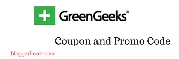 Greengeeks Coupon