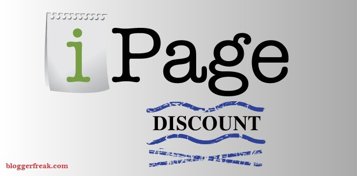 Ipage coupon 2018