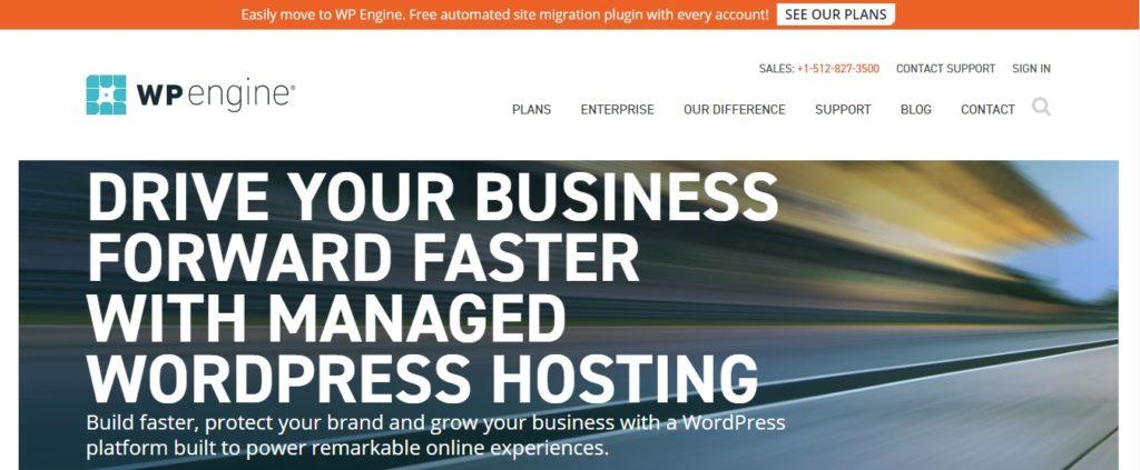 Wpengine - Managed WordPress Hosting Provider