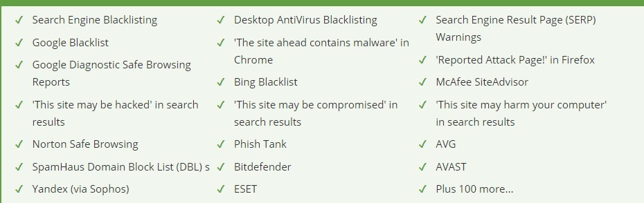Website Blacklist Removal