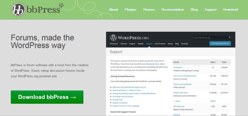 bbPress - OpenSource Forum Platform