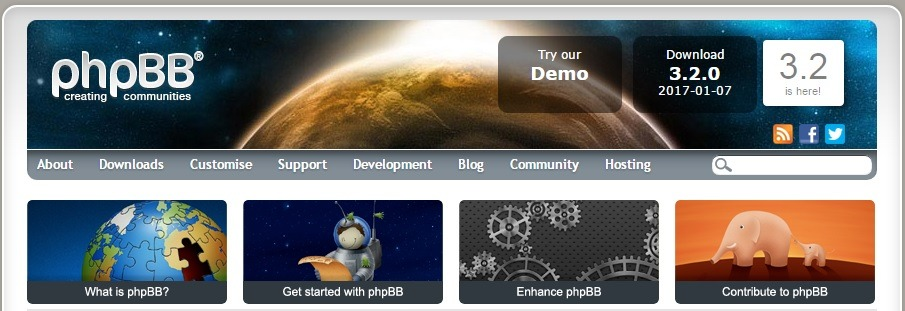 phpBB - Opensource Forum Software