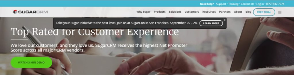SugarCRM - Open Source and Paid Software