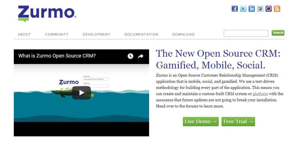 Zurmo - OpenSource CRM Software