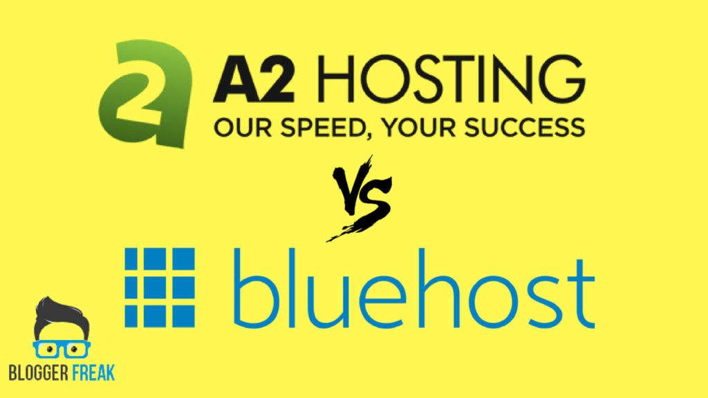 A2hosting vs Bluehost