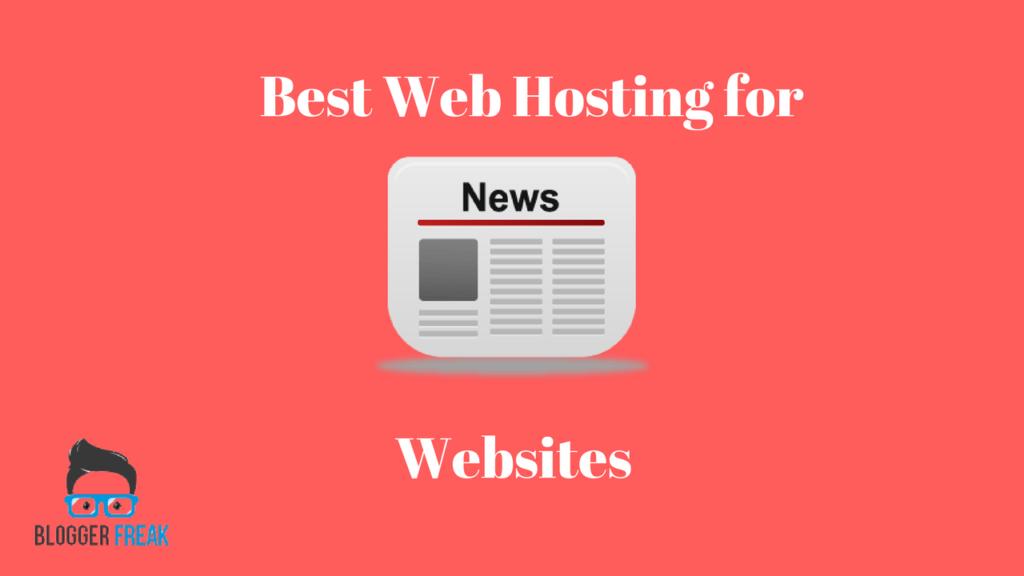 Best Web Hosting for News Websites