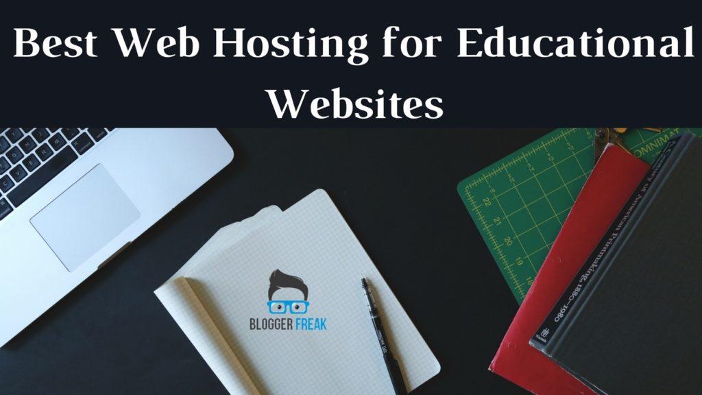 best web hosting for educational websites