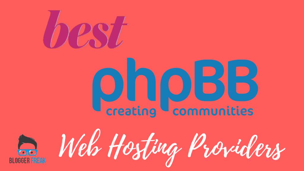 best phpbb hosting