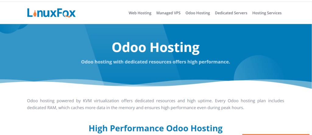 LinuxFox Odoo Hosting