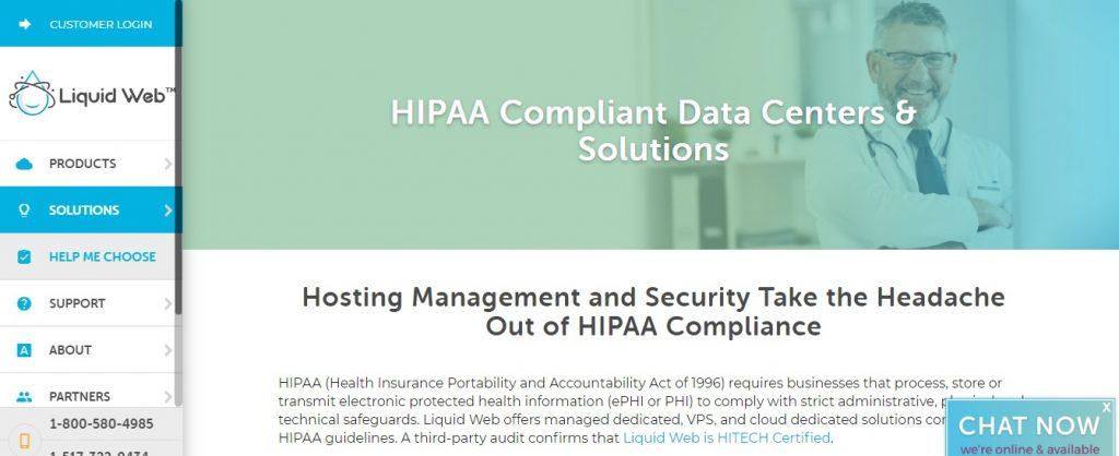 Liquidweb - Hipaa Compliant Hosting