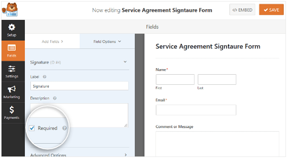 Service Level Agreement - Wpforms