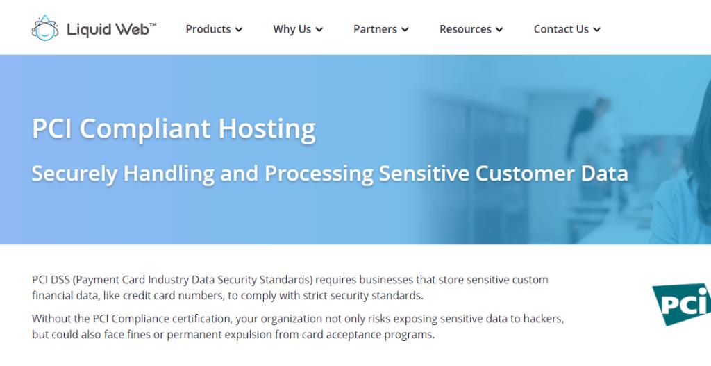 Liquidweb - PCI compliant hosting